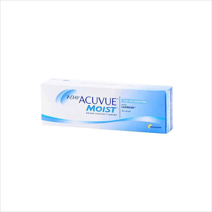 Acuvue 1 Day Toric Moist 30 Pack