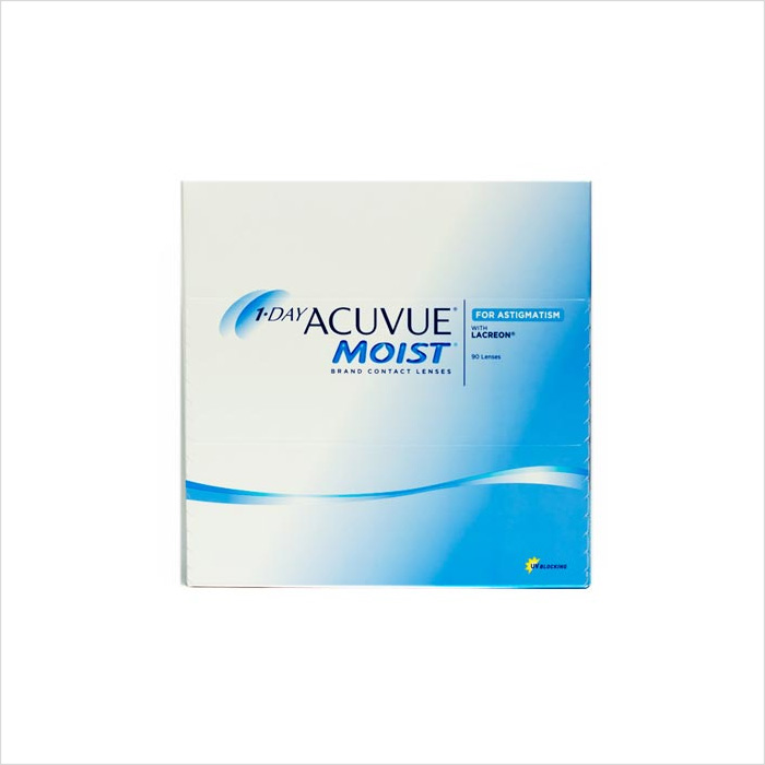 Acuvue 1 Day Toric Moist 90 Pack